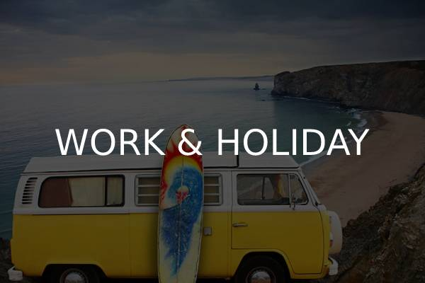 visa work and holiday para australia